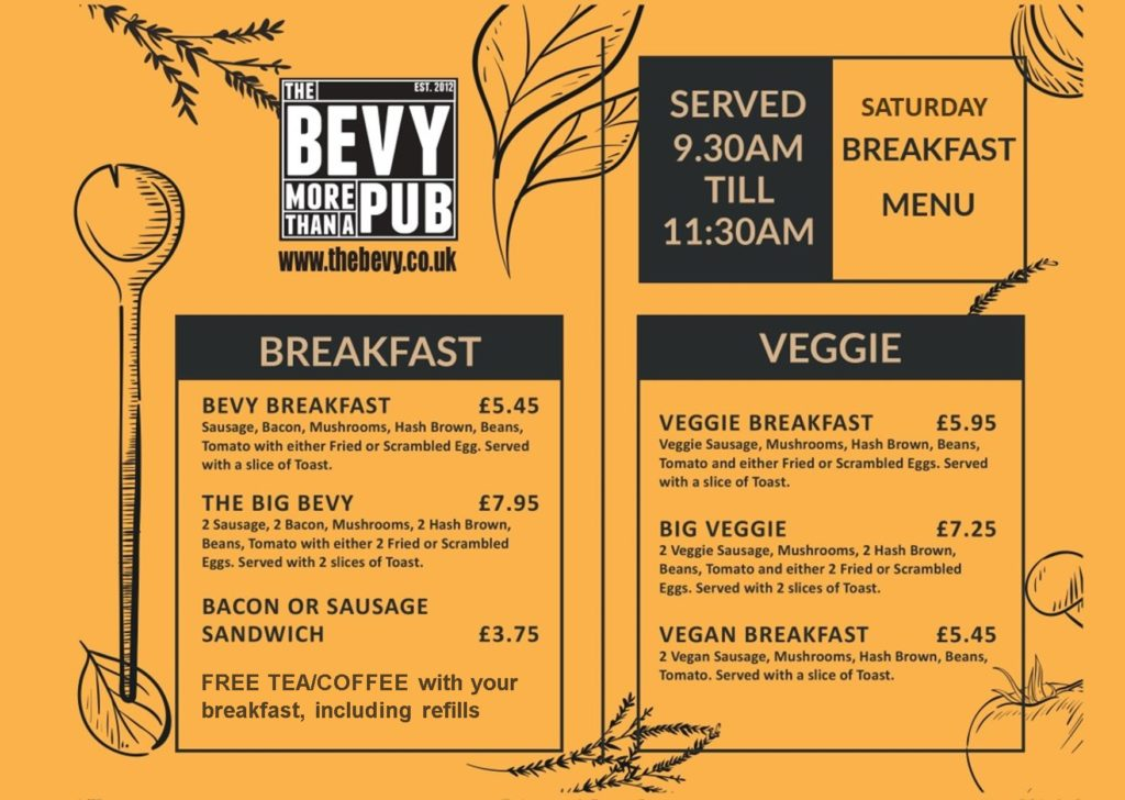 Brighton breakfast at The Bevy