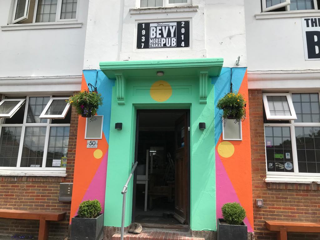 Bevy Brighton door