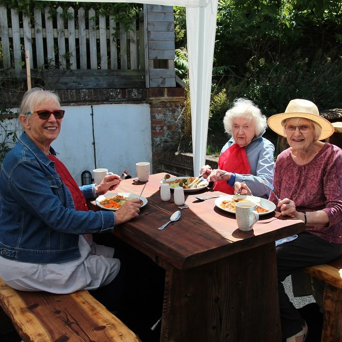 The Bevy Brighton Chatterboxes lunch club