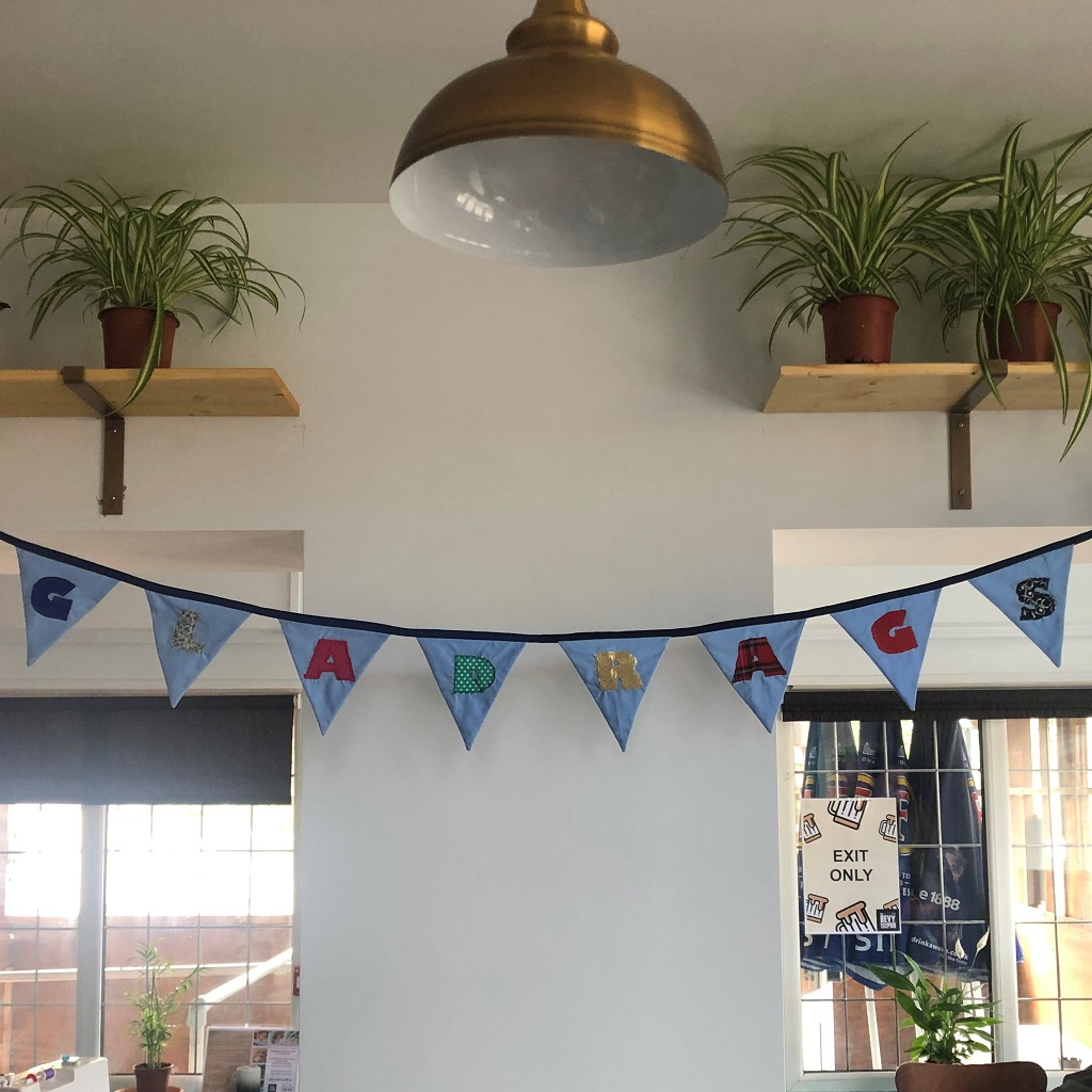 Gladrags Community Bunting at The Bevy Brighton